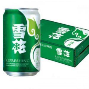 雪花清爽啤酒330ml